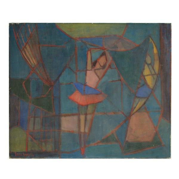 Abstract Ballerina by Sidnee Livingston
