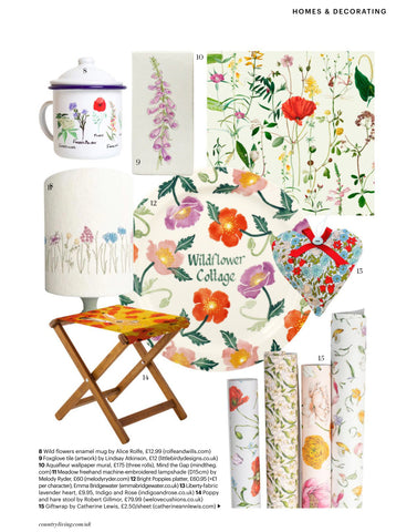 country living august issue