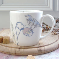 Honesty and Chaffinch Mug