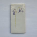 SECONDS Aquilegia Ceramic wall Art Tile