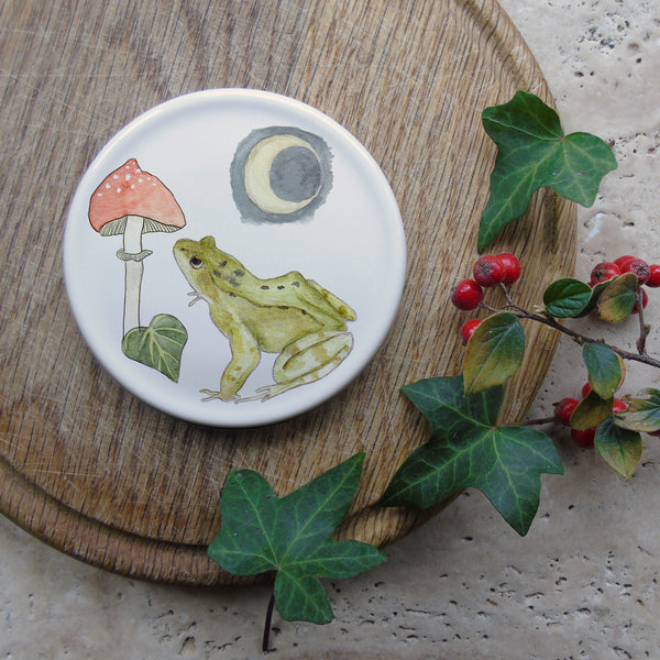 Winter Frog Coaster