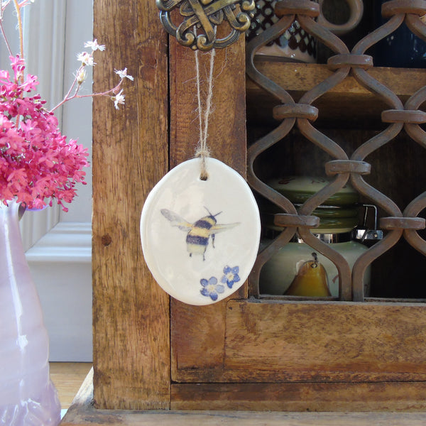 Ceramic Bee Easter Decoration