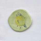 blue tit ceramic plaque