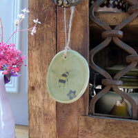 Handmade Ceramic Easter Hanging Decoration