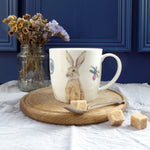 Winter Hare Bone China Mug