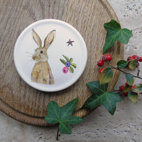 Winter Hare coaster
