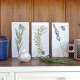 Kitchen Garden Herb Wall Art Tiles