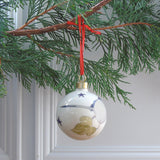 long tailed-tit Bauble