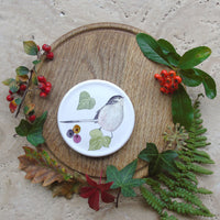 winter bird coaster
