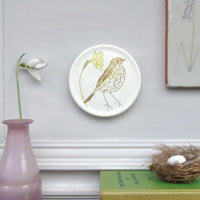 Spring wildlife mini wall plates