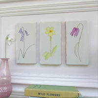 spring flower ceramic tile Wall Art