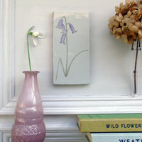 Bluebell Decorative Ceramic Tile Wall Art