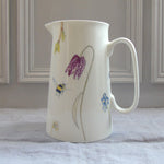 SECONDS spring flower bone china Jug