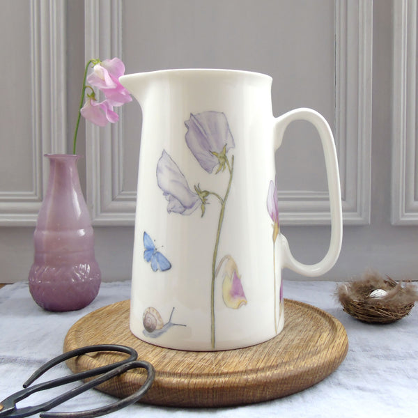 Summer Flowers Jug