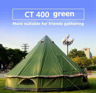 Huge 6/8 Person Mongolian Glamping Yurt - [presents_for_him_and_her].