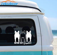 French Bulldog Car Sticker / Decal - [presents_for_him_and_her].