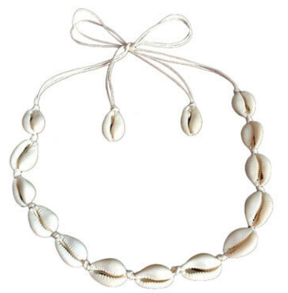 Bohemian Shell Collar Necklace - [presents_for_him_and_her].