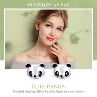 925 Sterling Silver Cute Panda Stud EarringS - [presents_for_him_and_her].