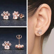 Cute Cat/Dog Paw Earrings Or Jewellery Set - [presents_for_him_and_her].