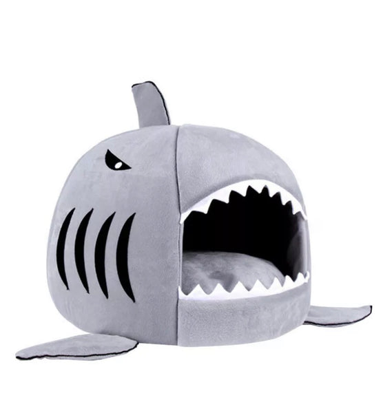 The Shark House For Cats/Puppies or Small Dogs - [presents_for_him_and_her].