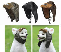 Aviator Cap For Dogs S/M/L/XL - [presents_for_him_and_her].