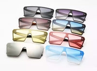 Oversized Square FlatTop Sunglasses UV400 - [presents_for_him_and_her].