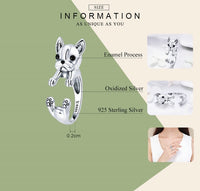 925 Sterling Silver Cool French Bulldog Ring - [presents_for_him_and_her].