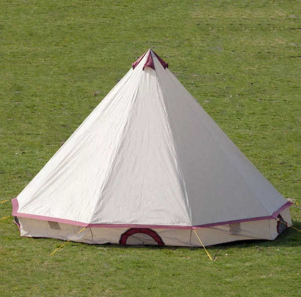 Comanche 8 Person Tipi Teepee Tent - [presents_for_him_and_her].