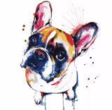 French Bulldog Iron On Patch - [presents_for_him_and_her].