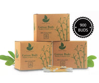 900 Bamboo Cotton Buds - Eco-Friendly - [presents_for_him_and_her].