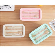 Wheat Straw Lunch Box - 850ml - [presents_for_him_and_her].