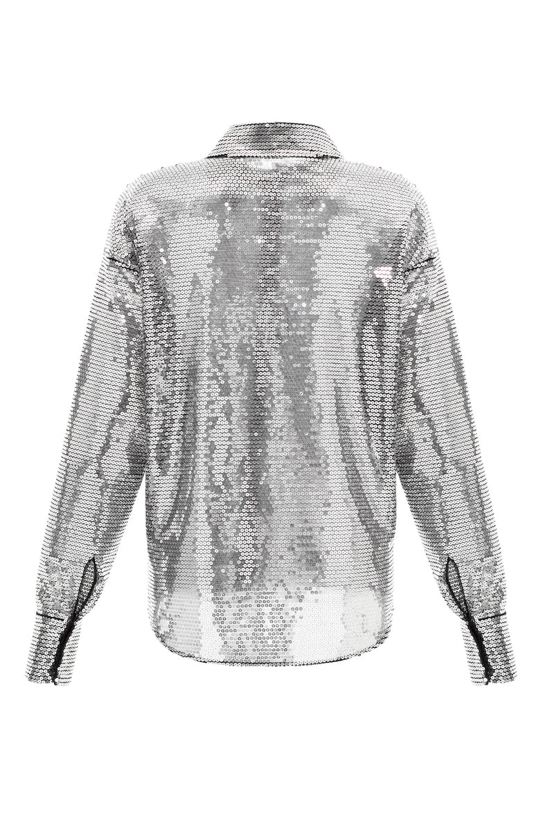SEQUINED BLOUSE