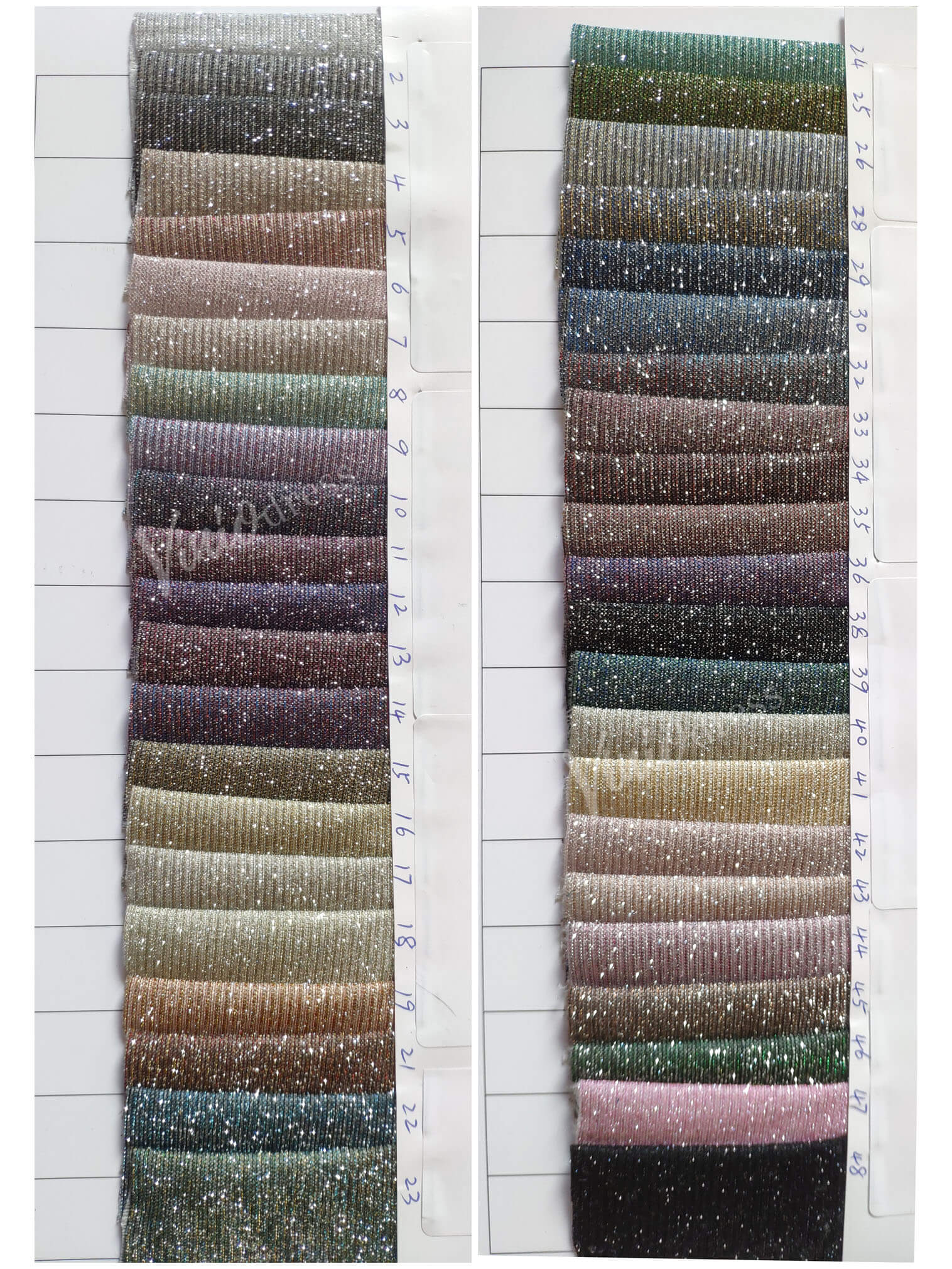 sparkly tulle color chart viniodress