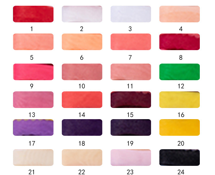 organza color chart viniodress