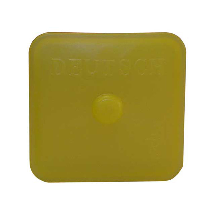 0515-009-4005 - AEC Series - Receptacle - Dust Cap, 40 Cavity, Non-Env. Sealed, Yellow