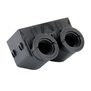 0528-001-5005 - DRC Series - 50 Cavity Plug Backshell - 90°, Black