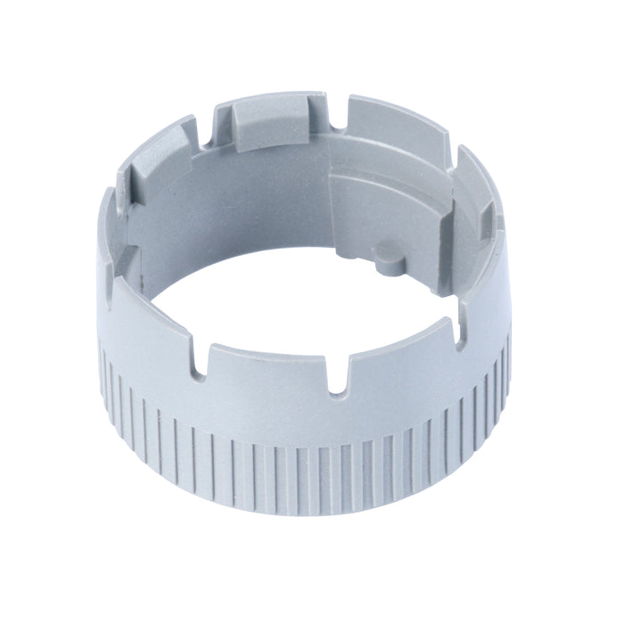 0730-009-0505 - HD10 Series - Coupling Ring for 5 Socket Plug - Gray
