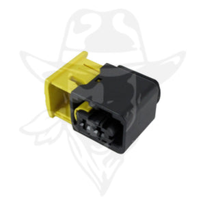 1-1418483-1 - HDSCS Series -  Receptacle Contact Housing, Secondary Lock Included