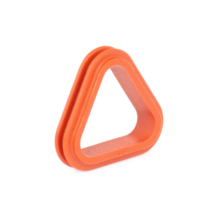 1010-002-0306 - DT Series - Front Seal for 3 Cavity Plug - Orange