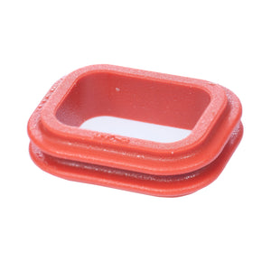 1010-009-0206 - DT Series - Front Seal for 2 Cavity Plug - Orange