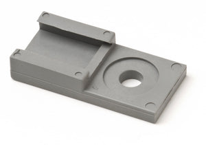 1011-026-0205 - Mounting Clip - Fits 2, 3, 4, 6, 12 Cavity - Gray