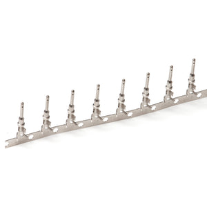 1060-14-0122 - Stamped & Formed Pin - Size 16  - 14-18 AWG, .095-.150 Insulation, 13 Amps, Nickel Plated