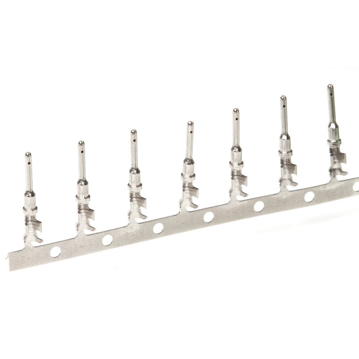 1060-16-0622 - Stamped & Formed Pin -  Size 16 - 16-20 AWG, .055-.100 Insulation, 13 Amps, Nickel Plated