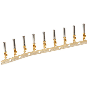1062-16-0644 - Stamped & Formed Socket - Size 16  - 16-20 AWG, .055-.100 Insulation, 13 Amps, Gold Plated