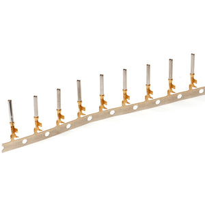 1062-20-0144 - Stamped & Formed Socket - Size 20 - 16-22 AWG, .075-.125 Insulation, 7.5 Amps, Gold Plated