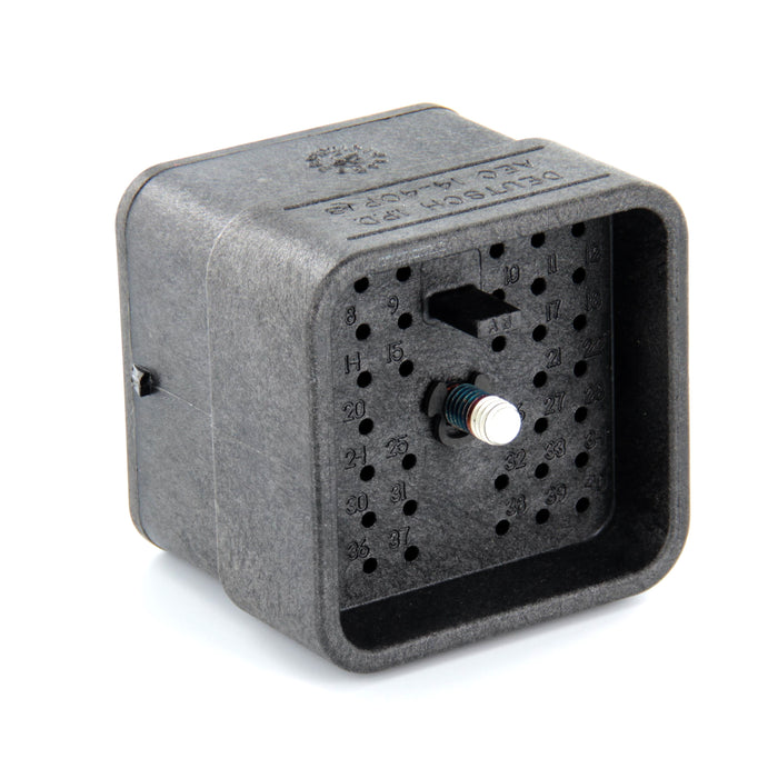 AEC14-40PAB - AEC Series - Receptacle - 40 Cavity, In-Line, A/B Key, Black
