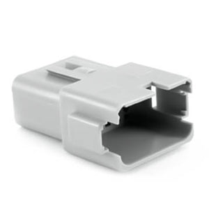 AT04-12PA - AT Series - 12 Pin Receptacle - A Key, Gray