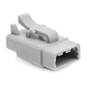 ATM06-3S - ATM Series - 3 Socket Plug - Gray