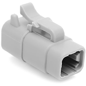 ATM06-4S - ATM Series - 4 Socket Plug - Gray