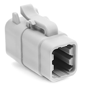 ATM06-6S - ATM Series - 6 Socket Plug - Gray